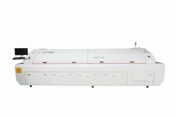 大型八温区回流焊接机GSD-L8
