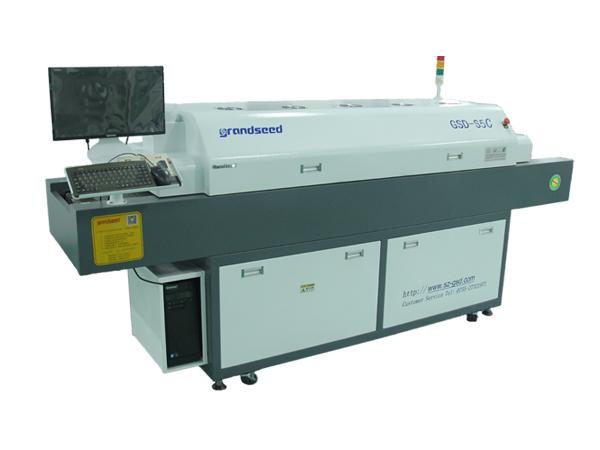 五温区全自动回流焊机GSD-S5C